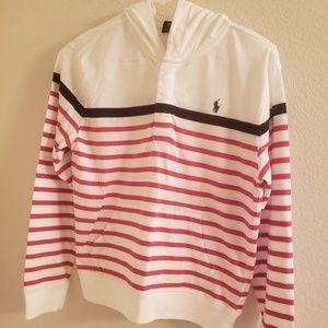 Boys Hooded Polo Shirt